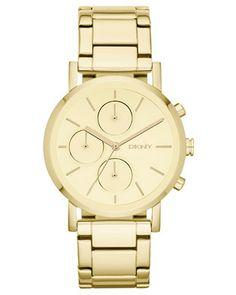 Beautiful gold watch.