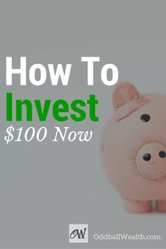 13 Ways to Invest $100! Learn where to invest money and how to build wealth with only one hundred dollars. Finding good investments on ways to invest $100 or even how to invest 1000 dollars isn't easy, but here's a list of ideas for the best places and things to begin investing in and grow your finances. http://oddballwealth.com/how-to-invest-100-dollars/ /search/?q=%23MakeMoney&rs=hashtag