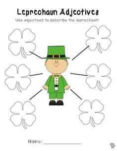 St. Patrick's Day Writing Pack and More