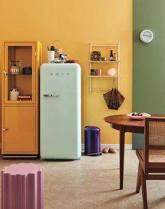 Decorando com a Si : Combinando as cores (pintura de paredes) Lockers, Locker Storage, Cabinet, Furniture, Home Decor, Colorful, Colors, Home, Pintura