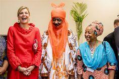 Emir van Kano ontmoet koningin Máxima. 2-11-2017