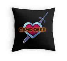 Legend of Zelda - Game Over Throw Pillow
