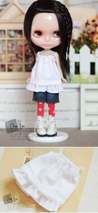 Blythe Clothes Clear Lan doll clothes Dress