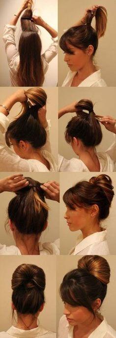 Passo a passo de um penteado de festa lindo e fácil de fazer!