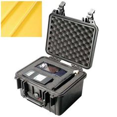 Pelican 1300 Case with Foam for Camera   Yellow -- Check this awesome product by going to the link at the image. This is Amazon affiliate link.