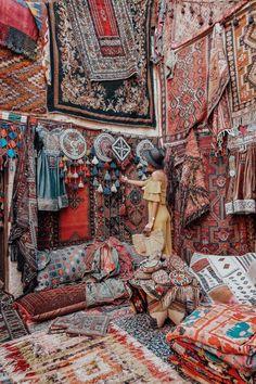 cappadocia, carpet market
