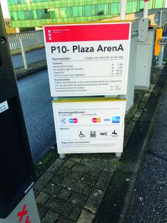 #informatiebord #parkeergarage #wayfinding #signing #reclame #bedrijfsreclame  #blsreclame