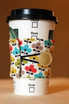 Featured: Coffee Sleeve Tutorial
