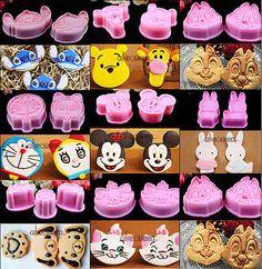 Cute 3D Disney Cartoon Fondant Cake Sugarcraft Baking Biscuit Cookie Cutter Mold