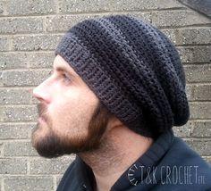 Slouchy Beanie Crochet Pattern For Beginners Pattern
