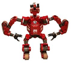 CHIMP developed by a team (Tartan Rescue) from Carnegie Mellon University. Third at the 2015 DARPA Robotics Challenge. This version was included in a press release dated 13 Dec 2013.