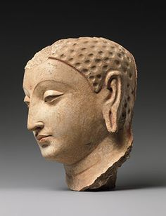 Head of Buddha Date: century Culture: Afghanistan (probably Hadda) Medium: Stucco with traces of paint Buddha Sculpture, Lion Sculpture, Buddhist Traditions, Virtual Art, Buddha Art, God Pictures, Museum Collection, Interesting Faces, Ancient Art