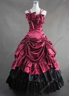 this is my halloween gown scrunched up...