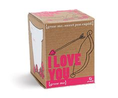 Grow Me Packaging. Plant this #packaging and your #Valentine will remember you forever PD