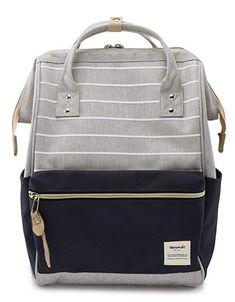 10af56ec7d Amazon.com  Himawari Travel Backpack Laptop Backpack Large Diaper Bag  Doctor Bag Backpack School Backpack for Women Men (XK-01 -L)  Himawari  Direct-sale ...