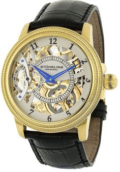 Price:$243.47 #watches Stuhrling Original 228.3335K2, Created in a blend of fashion and class, this Stuhrling timepiece exhibits a bold style that adds flare to your collection.