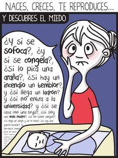¡Ja! La locura de la maternidad en 15 caricaturas   Blog de BabyCenter  Ilustración: ©Moderbloguer