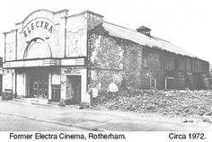 Parkgate Electra Cinema 1972? Cinema Theatre, Theatres, Sheffield, Past, Entertainment, History, Pictures, Painting, Image