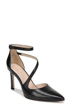 New 27 Edit Abilyn Ankle Strap Pump (Women) online shopping - Findtopbrandsgreat Leather Belt Bag, Leather Crossbody Bag, Ankle Straps, Ankle Strap Sandals, High Heel Pumps, Women's Pumps, Open Toe Socks, Knee High Wedge Boots, Size 12 Heels