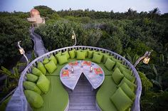 Fresh in the Garden at Soneva Fushi, Maldives | Soneva Resorts Official Site