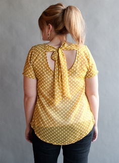 Love this Mustard Blouse by LucieLu