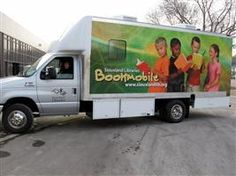 Bookmobile, Siouxland Libraries; Crooks