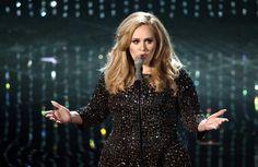 Adele at the 2013 Oscars