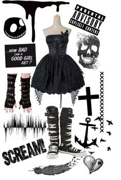 """Prom"" by poisonxxbite ❤ liked on Polyvore"