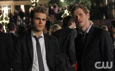 """Homecoming""--LtoR: Paul Wesley as Stefan and Joseph Morgan as Klaus on THE VAMPIRE DIARIES on The CW. Photo: Quantrell Colbert/The CW ©2011 The CW Network. All Rights Reserved."