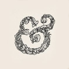Ampersand tattoo for when I get married - this one is kind of interesting :)