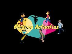 16 Fun PE activities to improve body balance. - YouTube