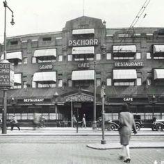 Café-restaurant-dancing Pschorr aan de Coolsingel in de jaren dertig. De foto komt uit het Stadsarchief Rotterdam #rotterdamvantoen #rotterdam #010 #gemeenterotterdam #instawalk010 #geschiedenis #historie #history #stadsarchief010 #coolsingel