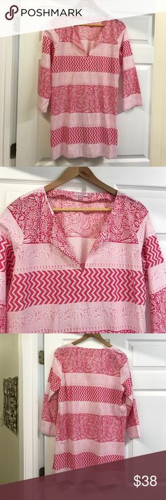 7481504e15a Barth Pink size M Blouses at a discounted price at Poshmark.
