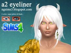 Sims 4 CC's - The Best: Eyeliner & Eyes by NG Sims
