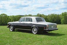 1979 Rolls Royce Silver Shadow II in shell gray over mason's black