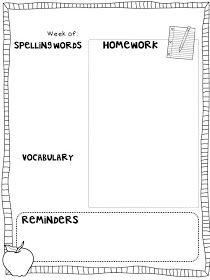 The Learning Tree: Weekly Homework + FREEBIE