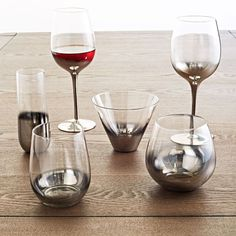 Metallic Ombre Glassware Set | west elm