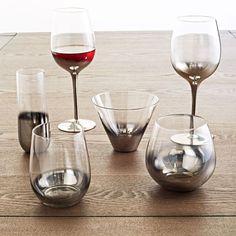 Metallic Ombre Glassware Set http://rstyle.me/n/eei9hr9te