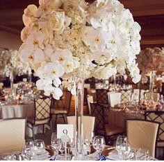 Flowers centerpiece wedding