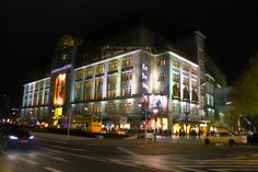 Kaufhaus des Westens (KaDeWe) / famous store in berlin  Photography / Architecture / Exterior