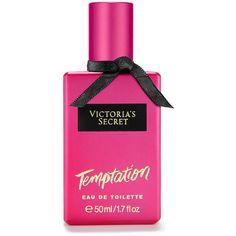 Victoria's Secret Temptation Eau de Toilette (£24) ❤ liked on Polyvore featuring beauty products, fragrance, perfume, makeup, beauty, eau de toilette perfume, flower fragrance, perfume fragrance, fruity perfume and flower perfume