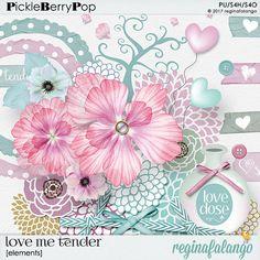 LOVE ME TENDER ELEMENTS By Regina Falango