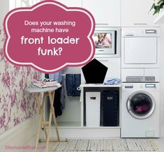 smelly washing machine front loader