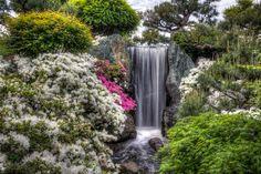 Waterfall - Missouri Botanical Garden