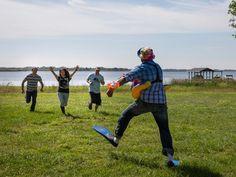 Mega Dens: Go Behind the Scenes at Blog Cabin 2014