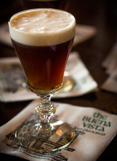 Irish Coffee cocktail recipe: From San Francisco's historic Buena Vista Cafe | Photo: Eric Wolfinger