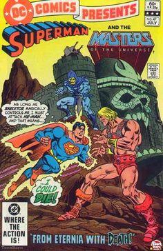#Superman y #He_man en @DC Comics
