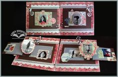 Amazing pop up layout by Karen Burniston.