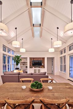 Modern Farmhouse Interior- Tim Brown Architecture