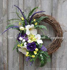 Easter Sunrise Garden Wreath